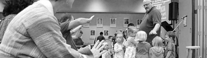 Praying for the kids